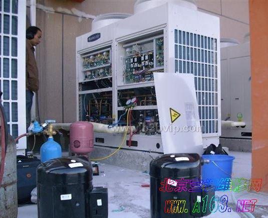 空调维修更换压缩机的方法