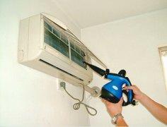挂式空调拆卸清洗方法,